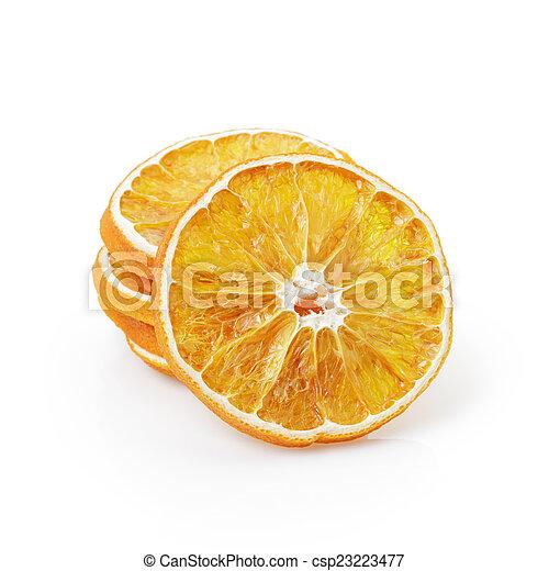 dried orange slices - csp23223477