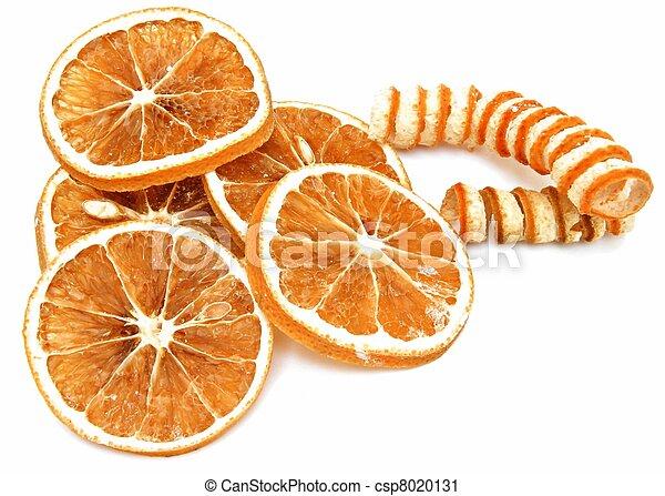 Dried orange slices - csp8020131