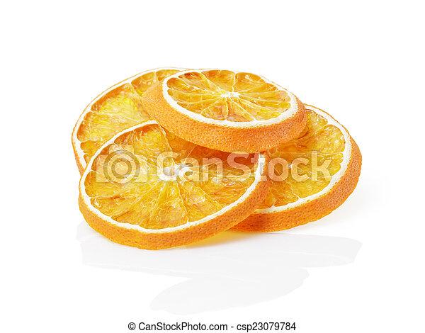 dried orange slices - csp23079784