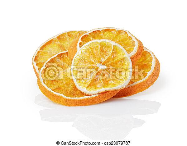 dried orange slices - csp23079787