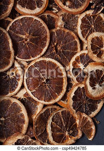 dried orange slices - csp49424785
