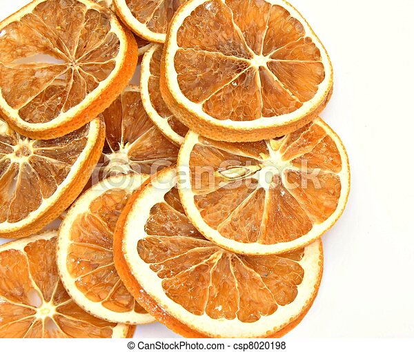 Dried orange slices - csp8020198