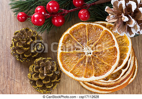 Dried orange slices - csp17112628