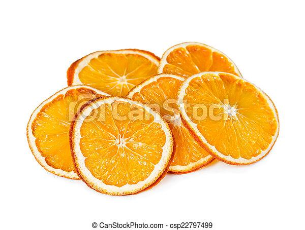 Dried orange slices - csp22797499