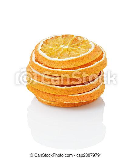 dried orange slices - csp23079791