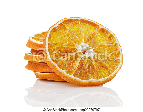 dried orange slices - csp23079797