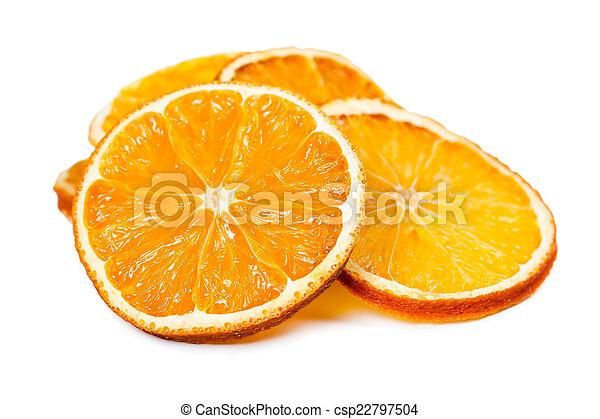 Dried orange slices - csp22797504