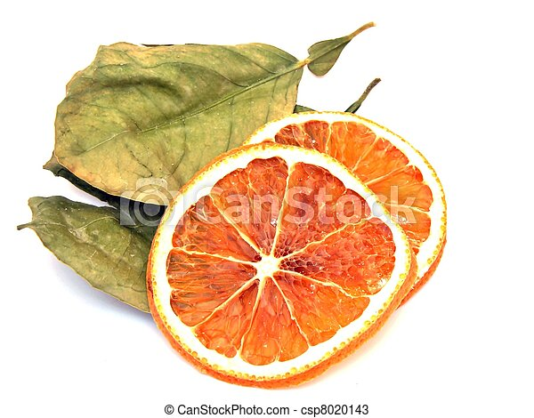 Dried orange slices - csp8020143