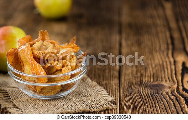 Dried Pears (selective focus) - csp39330540