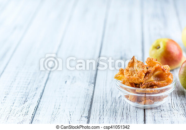 Dried Pears (selective focus) - csp41051342