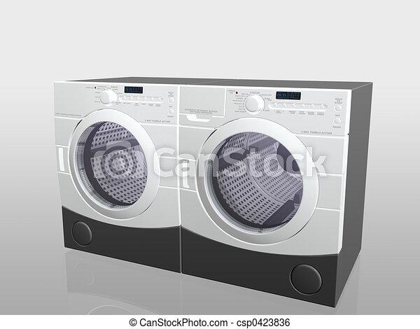drier., eletrodomésticos, lar, arruela - csp0423836