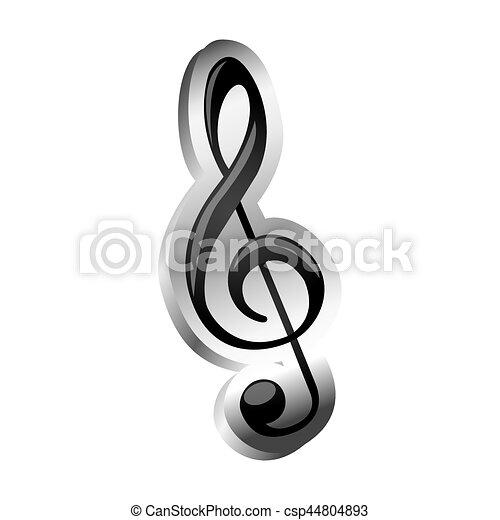 Drievoud, meldingsbord, muziek, verlichting, sleutel, pictogram ...