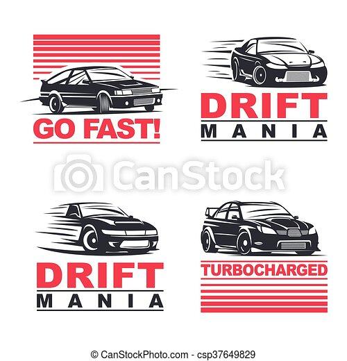 drift cars set - csp37649829