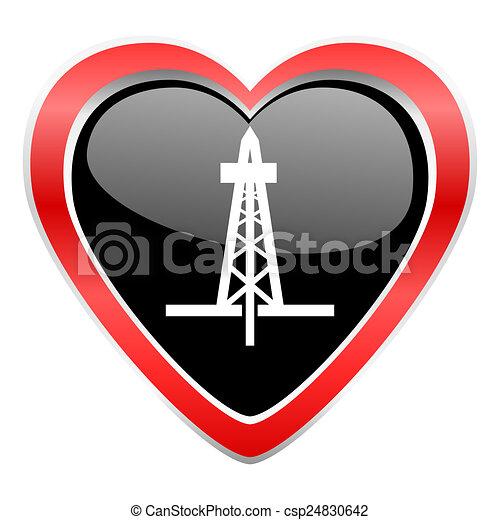 drilling icon  - csp24830642