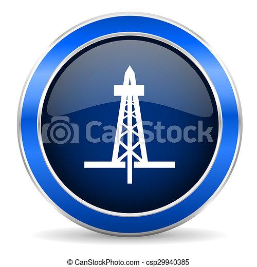 drilling icon  - csp29940385