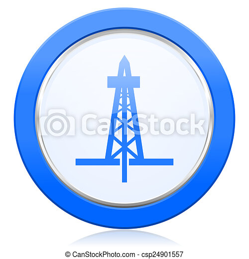 drilling icon  - csp24901557