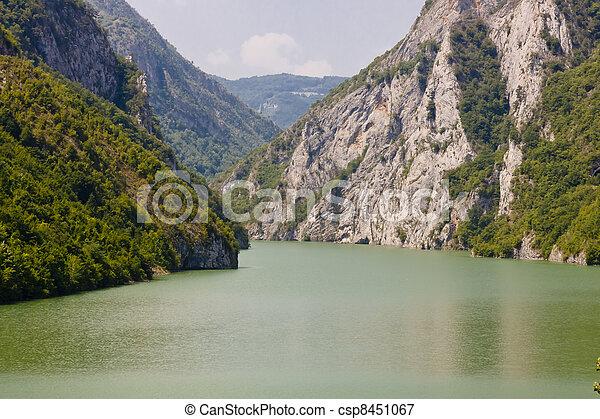 Drina river - Bosnia and Herzegovina - csp8451067