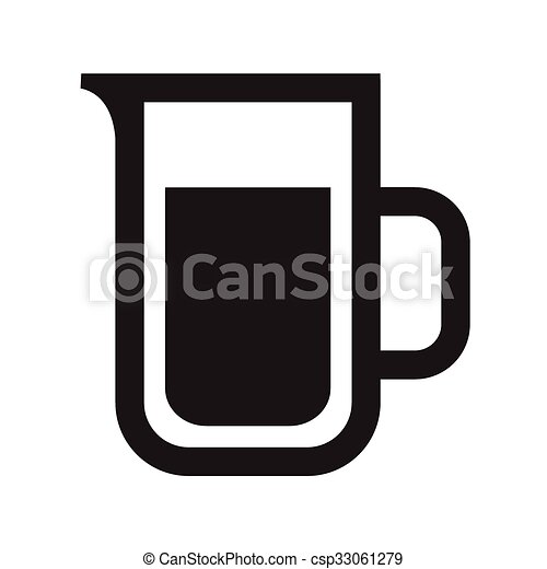 Drink alcohol beverage icons - csp33061279