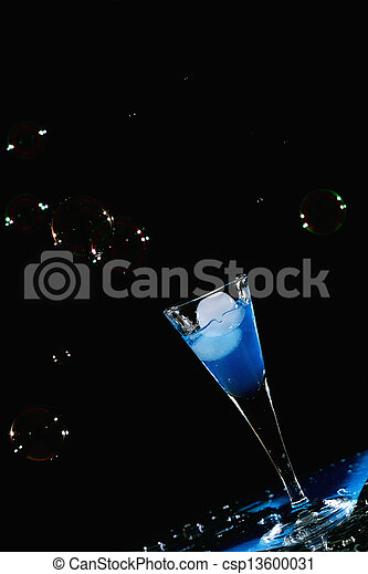 Drink and bubbles - csp13600031