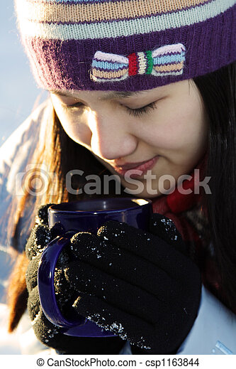 Drink coffee - csp1163844