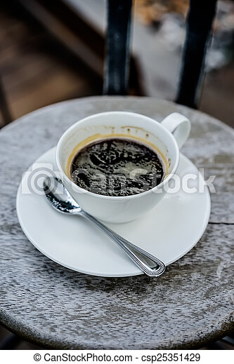 drink coffee - csp25351429