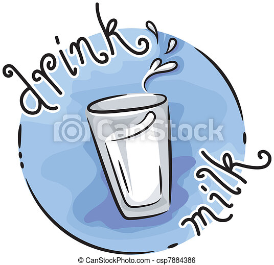 drink milk icon illustration featuring a glass of milk clip art rh canstockphoto com free clipart glass of milk