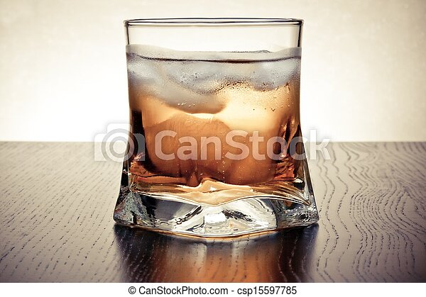 drink with ice - csp15597785