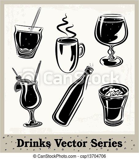 Drinking Glasses - csp13704706