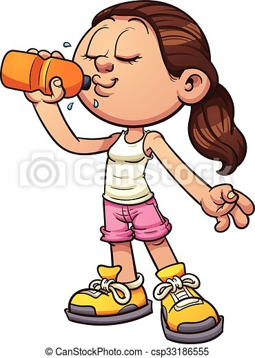 drinking water cartoon girl drinking water vector clip art rh canstockphoto com clipart drinking coffee drinking clip art free