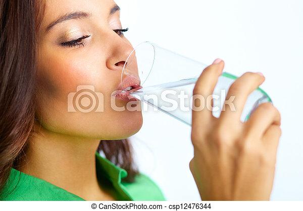 Drinking water - csp12476344