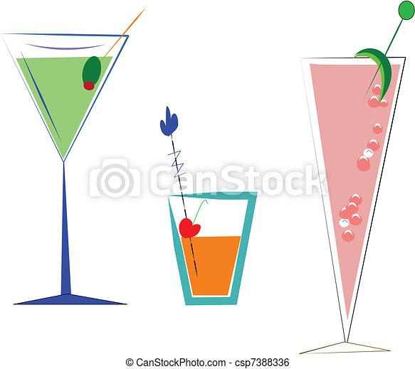 drinks elements - csp7388336