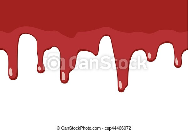dripping blood seamless border repeatable illustration of rh canstockphoto com dripping blood clipart border Halloween Blood Drops