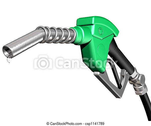 Dripping gas pump nozzle - csp1141789