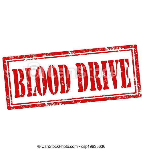 drive-stamp, bloed - csp19935636