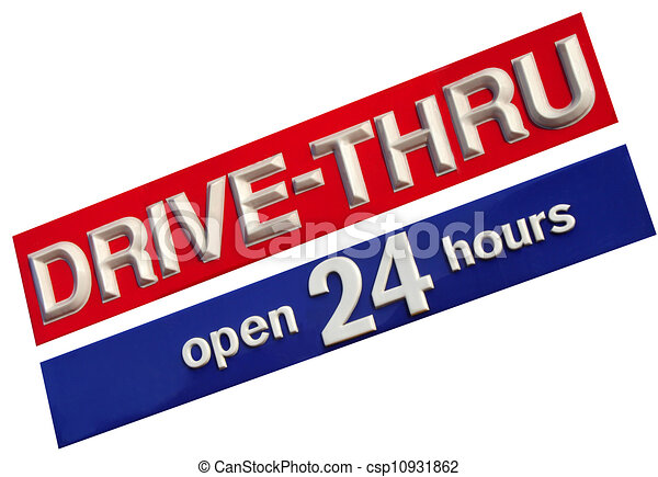Drive Thru - csp10931862