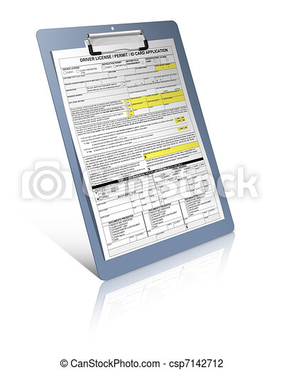 Driver license - csp7142712