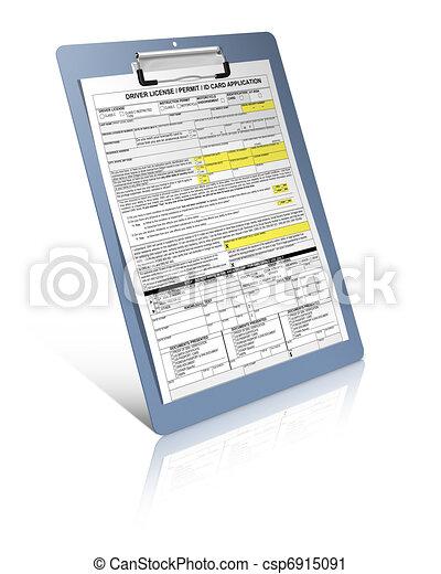 Driver license - csp6915091