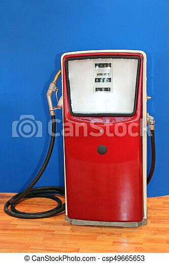 drivmedel, årgång, pump - csp49665653