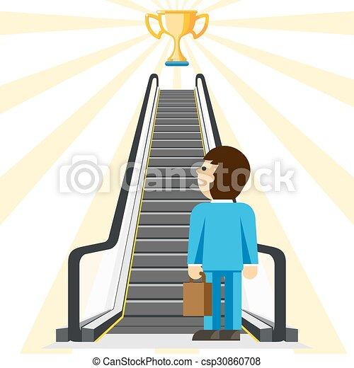 droga, consulting., powodzenie, handlowy, wygodny - csp30860708