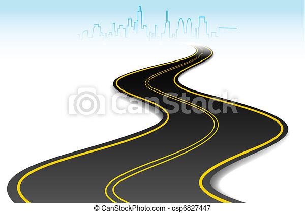 droga, powodzenie - csp6827447