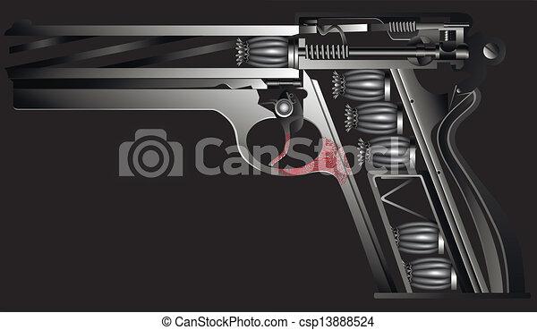 Arma contra drogas - csp13888524