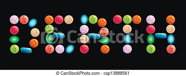 Drogas - csp13888561