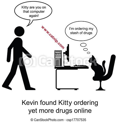 drogen, katzenkinder - csp17707535