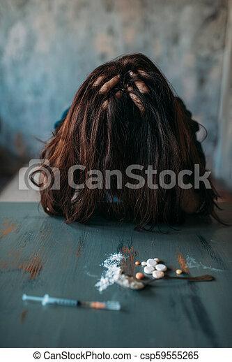 Kábítószer- árai negatív