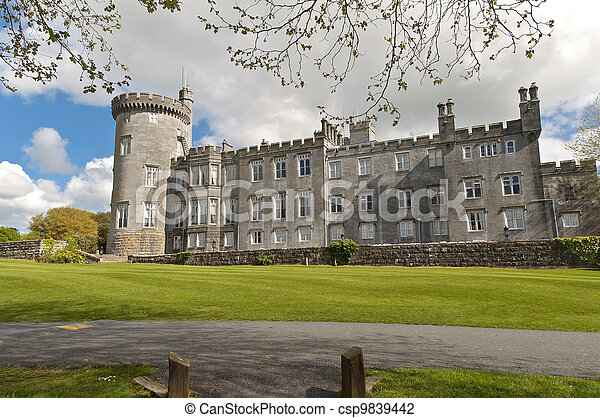 dromoland castle hotel, county clare, ireland - csp9839442