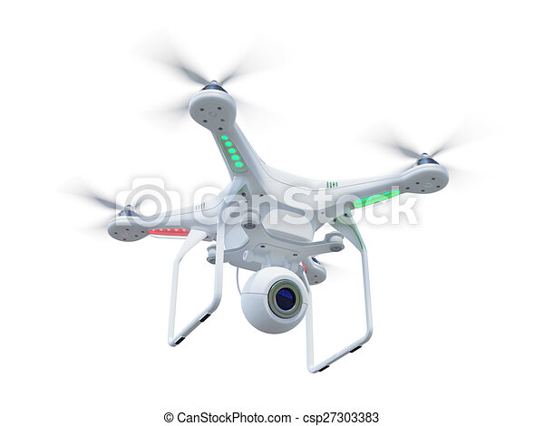 Drone in sky - csp27303383