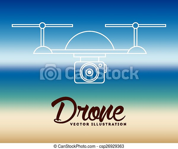drone technology - csp26929363