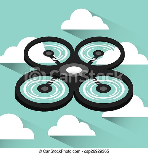 drone technology - csp26929365