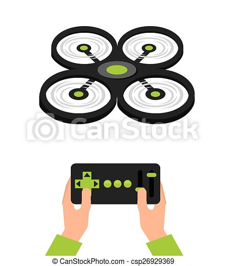 drone technology - csp26929369