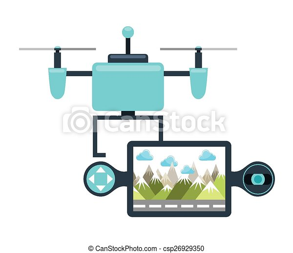 drone technology - csp26929350
